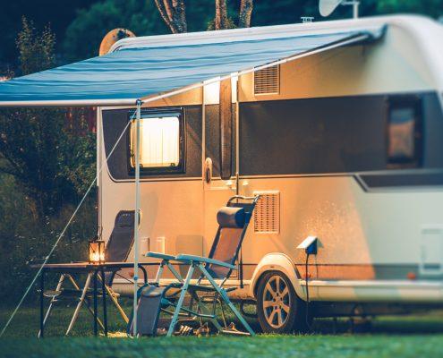 Syn af campingvogn